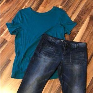 Dear John Flare Denim Jeans size 29
